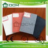 Scheda rendente incombustibile del cemento della fibra del materiale da costruzione