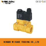 2V Series Small Size Solenoid Control Brass Valve