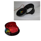 Feu de signalisation neuf de signal de la lampe 200mm DEL du rouge DEL