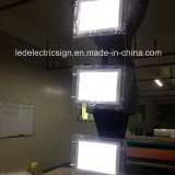 Window Real Estate Landscapeのための倍増されたSide Ceiling Hanging LED Acrylic Frame