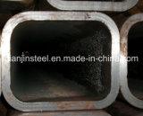 Tubulação de aço retangular do uso da construção de Q235 Q345