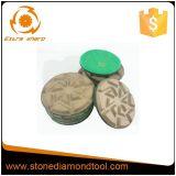 3 Zoll-konkreter Flausch-Metallbonddiamant-reibende Auflage
