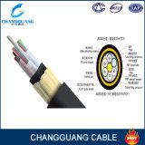 96 Kabel van de Vezel van de Steun van de kern ADSS de Zelf Lucht Optische (G652D, G655 vezel)