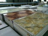 Linha de mármore artificial da extrusão da folha do PVC