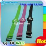 Bracelet intelligent de bracelet d'IDENTIFICATION RF de silicones du centre de forme physique FM08