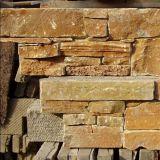 Natürliches SteinLedgestone/gestapelte Schiefer-Fliese für Wand-Umhüllung