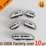 USB su ordinazione unico Pendrive (YT-6668L) del treno del PVC 3D