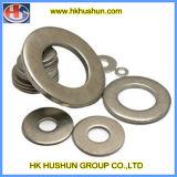 Tout le genre de rondelle à ressort avec le placage jaune de zinc (HS-SW-0012)