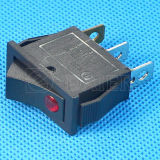 Черное Color 16A Rocker Switch 250V T125 с DOT