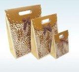 Printing de luxe Gift Paper Bag avec Diecut Handle