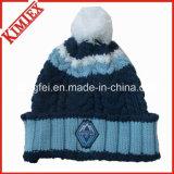 男女兼用の柔らかく暖かいベレー帽の帽子のスローチハットの帽子