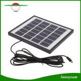 Mini système d'alimentation solaire avec le nécessaire à la maison solaire de projecteur de DEL avec le panneau solaire isolé avec le port USB pour la charge mobile