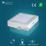 painel morno quadrado da iluminação do diodo emissor de luz do branco da luz de teto 24W