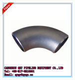 Prensa inoxidable de la pipa de acero que cabe el codo igual de 90 grados