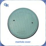 En124 500mm 둥근 SMC/BMC 합성 맨홀 뚜껑