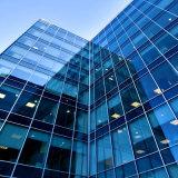 Fachadas do vidro da parede de cortina do vidro laminado/edifício de vidro