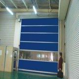 문 (HF-148)가 중국 공급자 PVC 플라스틱 고속에 의하여 위로 구른다