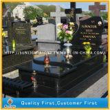 ポーランド様式の山西の黒い墓石および墓碑