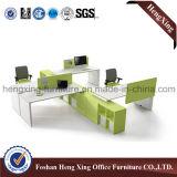 Meubles de bureau modernes de couleur verte de Tableau de bureau d'usine