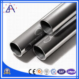 Tube en aluminium blanc anodisé 6063 T5