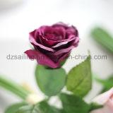 Flor artificial Wedding decorativa colorida del ramo de Rose (SF14651)