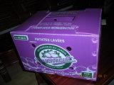 Коробка плодоовощ Recyclable полипропилена пластичная