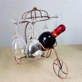 Estante colgante casero del sostenedor de taza del vino del estante del vino del metal de la decoración