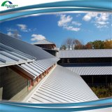 A largura 1000 1250 milímetros Pre-Painted placas onduladas galvanizadas do telhado