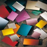 Colorare lo strato di plastica acrilico del perspex dello strato dello specchio per la decorazione