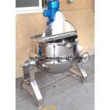 Inclinación de la cocina de la pasta alimenticia, salsa que cocina el recipiente