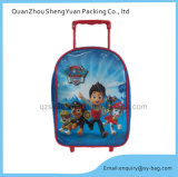 Muchachos Cartoon School Bag con Wheel para Kids