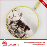 Alfombra de mesa de cerámica ecológica con cuerda colgante y corcho