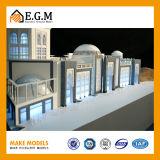 Красивейшая модель здания/фактор архитектурноакустического здания маштаба модельные делая/модель модели здания/запланирования зоны/весь вид знаков