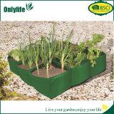 Onlylifeの円形の再使用可能な庭の野菜は袋を育てる