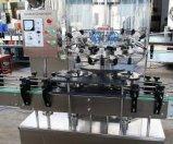 Machine à laver automatique de la bouteille 2000bph en verre
