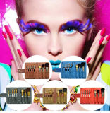 8 PCS portátil Makeup Master Recomendar Conjunto de escovas de maquiagem