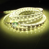 Alta luz de tira flexible brillante de SMD2835 los 60LEDs/M LED IP68