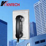 Telefono pubblico automatico del telefono di manopola del telefono impermeabile di buona qualità Knzd-10