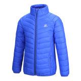 Куртка детей человека просто конструкции вниз на зимы без крышки 603