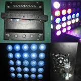Матрица DMX освещения 5X5 СИД этапа RGB 3in1 диско DJ