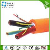 varón de carga del cable IEC62196-2 del vehículo eléctrico 32AMP al varón