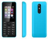 Teléfono móvil # Música Nokia106 ancianos Teléfono pequeña Dual SIM doble modo de espera barato viejo móvil