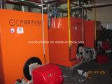 Gas u. Diesel- u. ölbefeuerter horizontaler Warmwasserspeicher