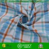 남자의 셔츠를 위한 격자 무늬 패턴을%s 가진 털실에 의하여 염색되는 폴리에스테 나일론 직물