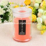 Eindeutige duftende Glasglas-Kerzen im Geschenk-Kasten