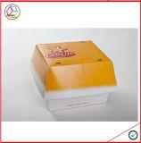 Rectángulo de papel modificado para requisitos particulares respetuoso del medio ambiente de la hamburguesa
