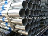 Tubo de acero galvanizado de la INMERSIÓN caliente para los materiales de construcción
