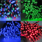 Luz de hadas accionada solar de la cadena del RGB LED para la decoración al aire libre