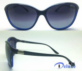 Nueva gafas de sol plásticas polarizadas de las mujeres del diseñador manera