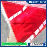 Plástico de acrílico de la hoja/de la hoja hoja/4X8 del plexiglás